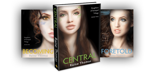 Central (Daughters of Saraqael Trilogy Book Two)