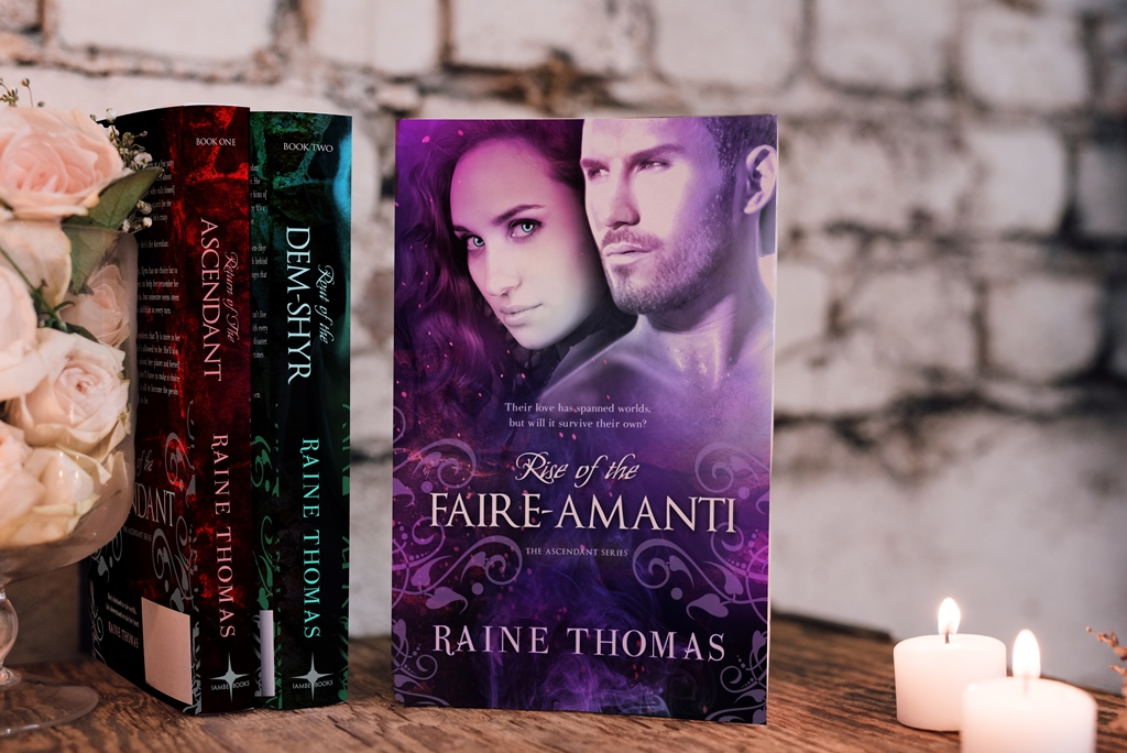 Ascendant series by Raine Thomas