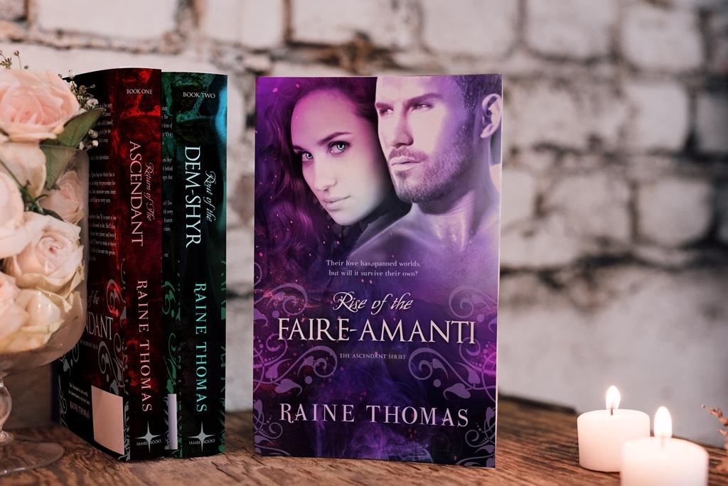 Ascendant series by Raine Thomas