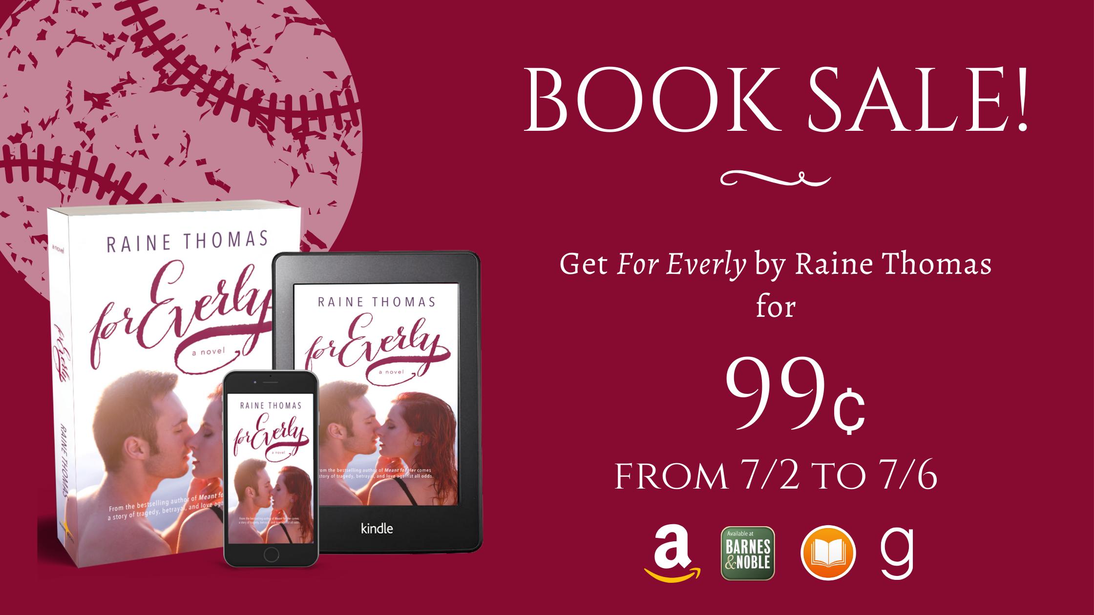 Book Sale - For Everly - Raine Thomas