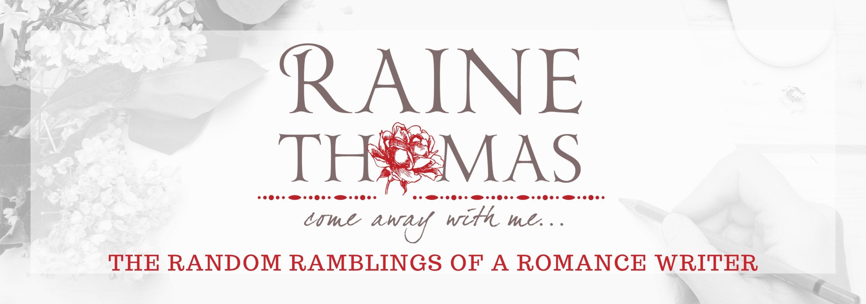Bestselling Author Raine Thomas