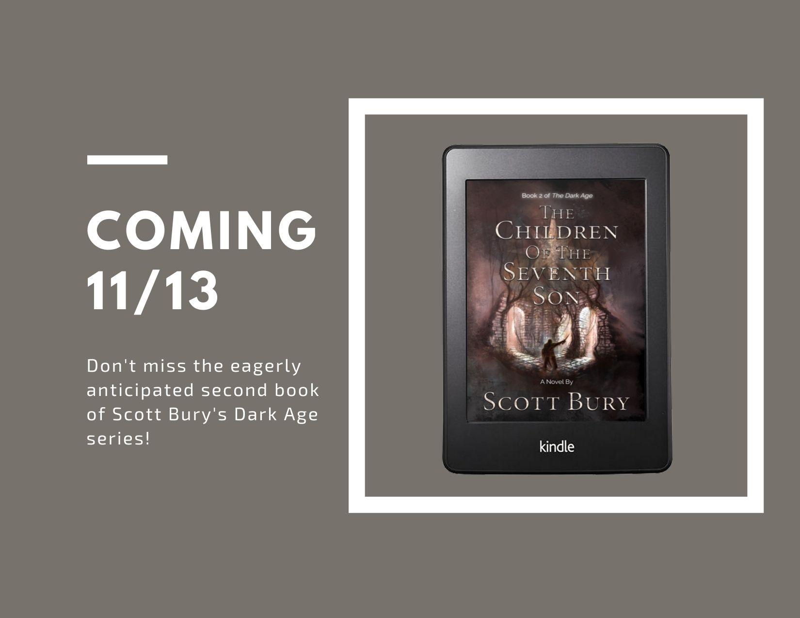 Dark Age Historical Fantasy Series by Scott Bury